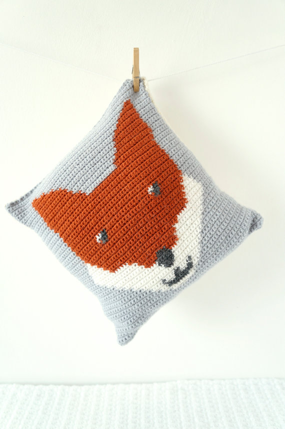 Fox cushion